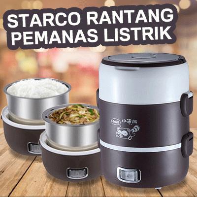 STARCO Rantang Pemanas Listrik Penghangat Makanan Serbaguna Portable Free Ongkir Only Jabodetabek Deals for only Rp250.000 instead of Rp250.000