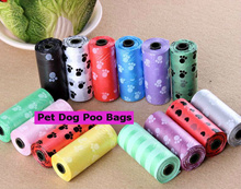 Attractive Package Prices For 5/10 /15 / 20 / 25/30 Rolls Dog Poo Bag Biodegradable Bag Cheapest!