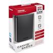 Toshiba Canvio Basic - External Hard Disk 500GB (USB 3.0, BLACK)-1 Year Warranty