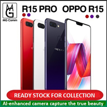 Ready stock now. Oppo R15 / R15 Pro / 6/128GB. Local 2yrs Official Warranty. Freebies