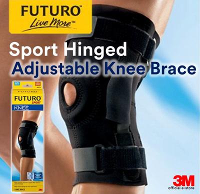7e1b8786f6 3M FUTURO™ Sport Hinged Knee Brace - Sprains / Strains / Injury