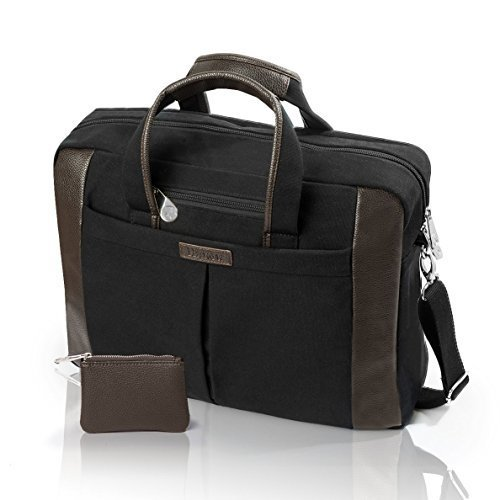 Portable Office Organizer 15 6 Inch Laptop Bag Large Enough For More Than A Computer Water Resista