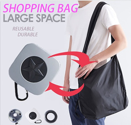 Magic Reusable Shopping Bag Recycle Shopper Bag Multifunctional Fold Grocery Bag Large Capacity