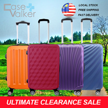 No Shipping Fees [Ultimate Clearance Sales] Case Valker Multidesign 24inch Luggage Bag Suit Case
