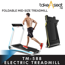 TM-588 Foldable Electric Treadmill / Running Exercise Cardio Fitness / Home Gym