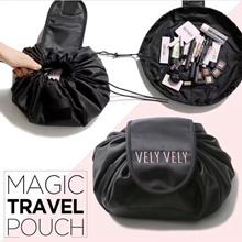 ✿✿NEW !!Bag in Bag ✿✿ Lazy cosmetic bag large capacity storage drawstring beam bag wash bag