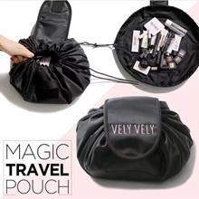 ✿✿NEW !!Bag in Bag ✿✿ Lazy cosmetic bag large capacity storage drawstring beam bag wash bag