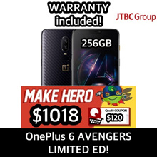 OnePlus 6 MARVEL AVENGERS LIMITED ED! 256GB w 8GB RAM! LOCAL SELLER! WARRANTY INCLUDED!