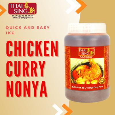 Nonya Chicken Curry Paste Paste - 1kg