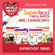 MixnMatch Superfood (500gx3Tin) 3mth supply [Superfood+/Superfood+ Lady/Superfood+ Kids/Supreme 500g