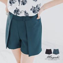 MAYUKI - Short with Layered Front-6008780