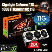 Gigabyte GeForce® GTX 1080 Ti Gaming OC 11G. (Ex-Stock Today 20/7/17) USE YOUR COUPON HERE ! $100