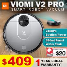 Xiaomi Viomi V2 Pro Robot Vacuum | Smart Water Tank