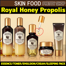 2017NEW ! [SKINFOOD] Royal Honey Propolis ESSENCE! TONEREMULSIONCREAM SLEEPING PACK