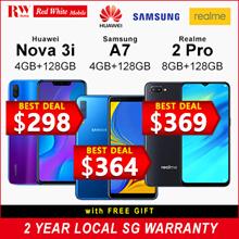 [Buy Today Collect Same Day] Huawei Nova 3i 128GB (Black/Purple) 2 Year Huawei Local Warranty