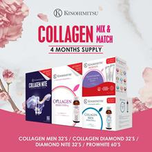 [4MTH SUPPLY] BEST SELLING COLLAGEN *Diamond/ Collagen Nite/ Prowhite/ Collagen Men 32sx2