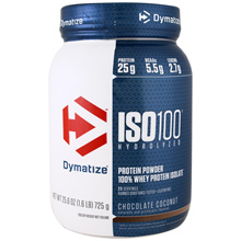 [CARTON DEAL] 4x QTY, Dymatize Nutrition ISO 100 Hydrolyzed 100% Whey Protein Isolate Powder
