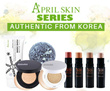 April Skin / Doctorcos ~~ Magic Snow Cushion SPF50 PA++ // Magic Snow Cream // Magic Stone Face Wash // NEW 4D Contour Stick ~~100% Authentic Product~~Local