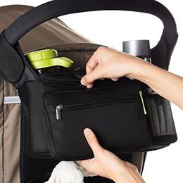 Baby Travel Diaper Nappies Storage Bag Infant Stroller Organizer Basket Pushchair