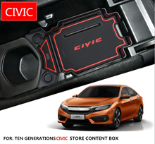 [SG_Seller] Honda Civic 10th GenGear Armrest Console Middle Center Storage Box Holder Container Tray