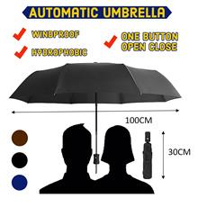 Automatic Umbrella Windproof Hydrophobic One button open close UV umbrella LOCAL SELLER