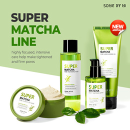 🌟2020 NEW DROP🌟[SOME BY MI] 🌿SUPER MATCHA PORE CLEAN CLAY MASK/TONER/SERUM