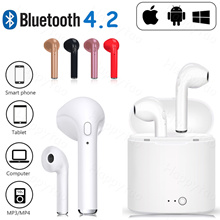 LOCAL SHIPPING I7 TWS Twins Wireless Bluetooth Earbuds 4.2 Stereo HIFI Earphones Apple Android