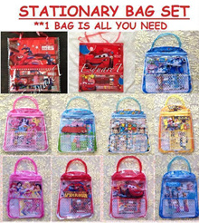 Stationary Bag Set ★ POKEMON★Zootopia★Robocar Poli★Pony★Tsum★Peppa Pig★Frozen★Princess★Cars★Paw Patr