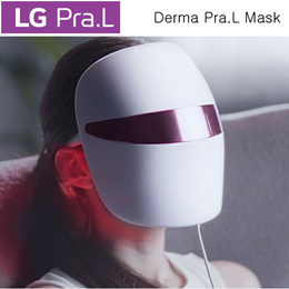 LG Derma Pra.L Mask Home Care Electronic Mask Pack BWJ1 LED Red Light Infrared Use 1 hour 10 minute