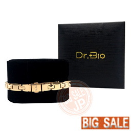 EISAN Dr.BIO Germanium bracelet /Gold/ male/female S、M、L size