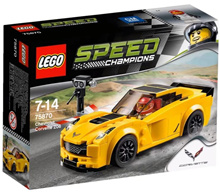 LEGO Speed Champions 75870: Chevrolet Corvette Z06