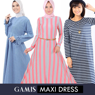 Jfashion FLAT PRICE GAMIS // MAXI DRESS // MANY COLORS // MANY MODELS Deals for only Rp59.900 instead of Rp59.900