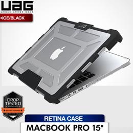 UAG MacBook Pro 15 Retina Case Ice Black (Transparent)