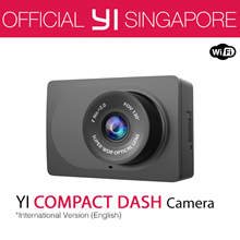 [Official Xiaoyi SG]★English Version XiaoYi YI COMPACT Dash Camera Car DVR XiaoMi★12 Months