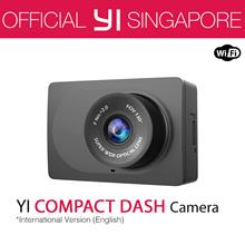 [Official Xiaoyi SG]★English Version XiaoYi YI COMPACT Dash Camera Car DVR XiaoMi★12 Months