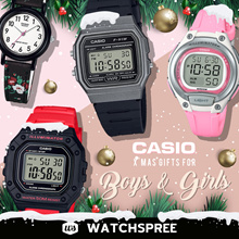 [XMAS SPECIAL] *CASIO GENUINE* Casio Watches for Kids. Boys and Girls Collection. Free Shipping!