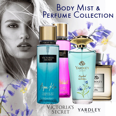 Parfum Yardley 125ml / Body Mist Montecito 250ml Deals for only Rp228.000 instead of Rp228.000