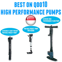High Pressure/Floor Pump/Air Pump/Presta Schrader Valve/Portable/Giyo/Bicycle/Bike/Tires/Ball/Scooter/Inflator/Psi/Gauge/Foldable Bike/Fixie/Helmet/Mountain Bike/Road bike/Beto/Light/Singapore