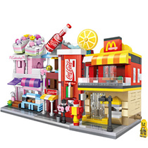 ★FAQ★children day gift★Toys★mini blocks★Street View★18 type★Free shipping★More Benefits in here