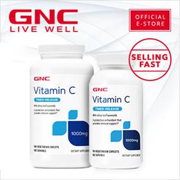 [GNC official] Vitamin C 1000 Timed Release Tablets [Vitamins/Supplements/Vitamin C/GNC]