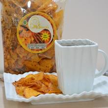 Keripik Singkong  Teri Pedas Leni Snack (isi 3 bungkus)