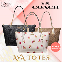 DIRECT SHIPMENT FROM USA-COACH AVA TOTE NEW COLLECTION