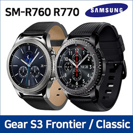 SAMSUNG Galaxy Gear S3 Used A-GRARD Frontier SM-R765/ S3 Classic SM-R775  / Smart Watch with Wi-Fi