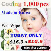 [SUPER SALE] Korea Authentic ▶ Cooing Cooing  Korea Wet Wipe10 Packs ◀ Baby wet wipes / Thick wet wi