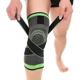 228928b9dc Mumian 3d Pressurized Fitness Running Cycling Knee Support Braces Elastic  Nylon Sport Compression Pa