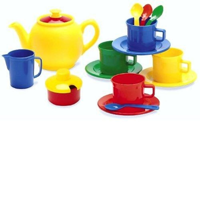 Tea Time-15 Piece Set Colors may Vary Dantoy