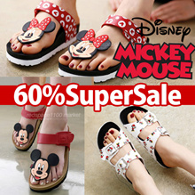 [DISNEY] Made in Korea Disney Mickey Mouse Womens Fashion Sandal / flip flop