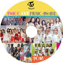 【K-POP DVD】 ☆ ★ TWICE 2016 MUSIC AWARD CUT ☆ Gaon Melon MAMA KBS MBC Seoul Awards and others 【Twice】