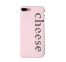 Paroparoshop Casing Handphone Murah PINK CHEESE CASE for iPhone