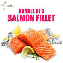[TSC] [BUNDLE of 3] Atlantic Salmon Fillet 150g per fillet